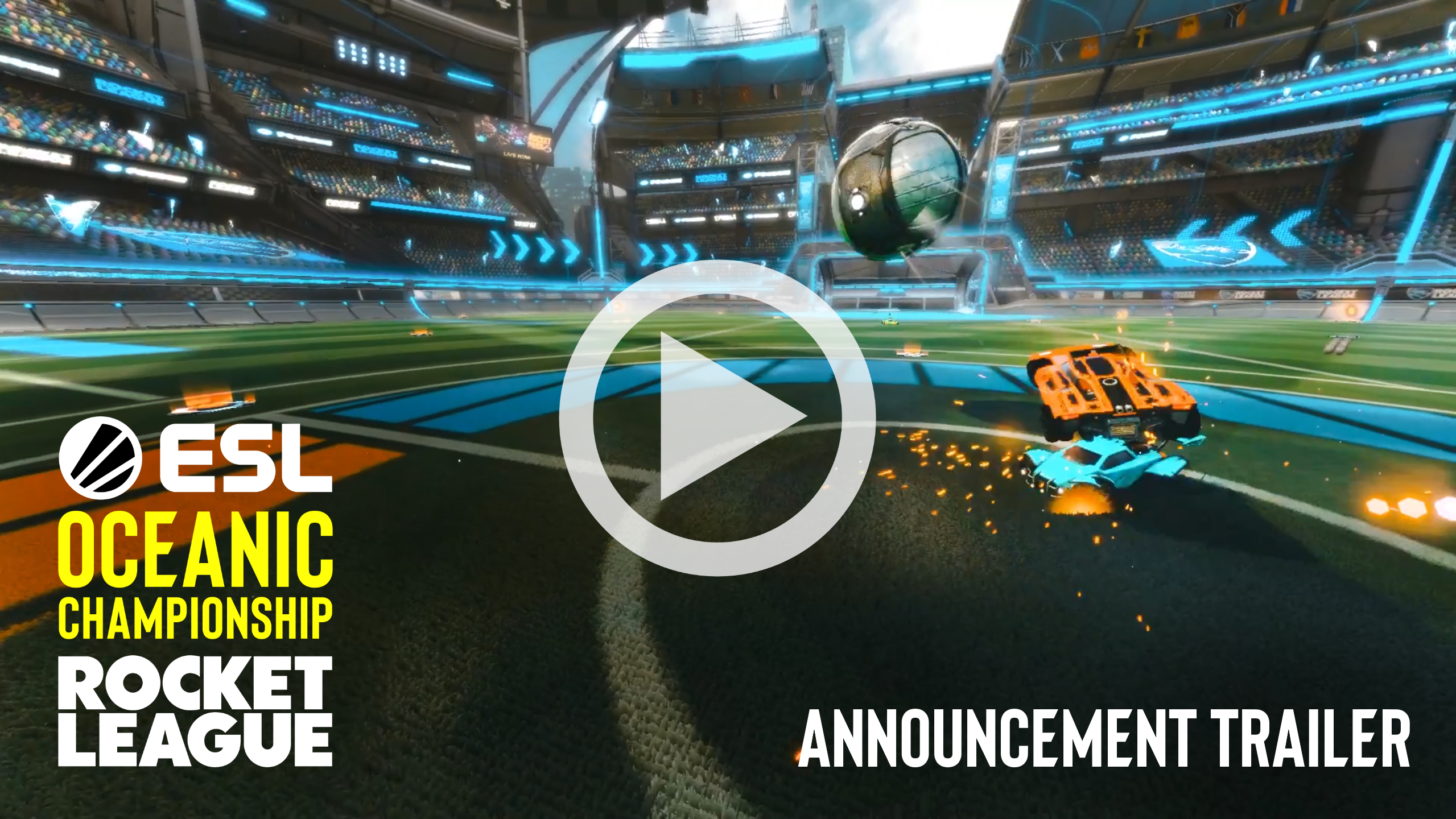 ESL Australia And Psyonix Partner For New $225,000 USD Rocket League Tournament