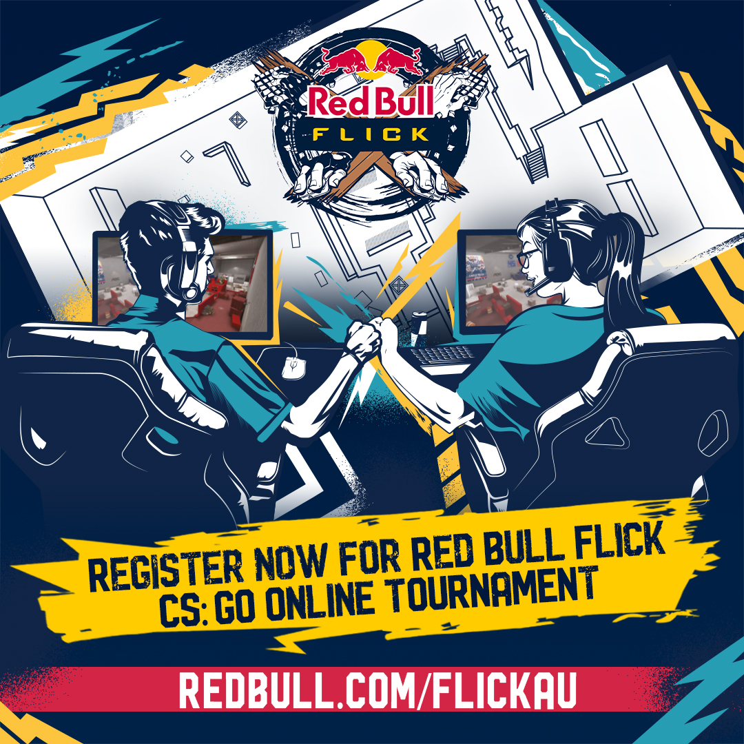 Red Bull Flick Brings New CS:GO Mode To Australia