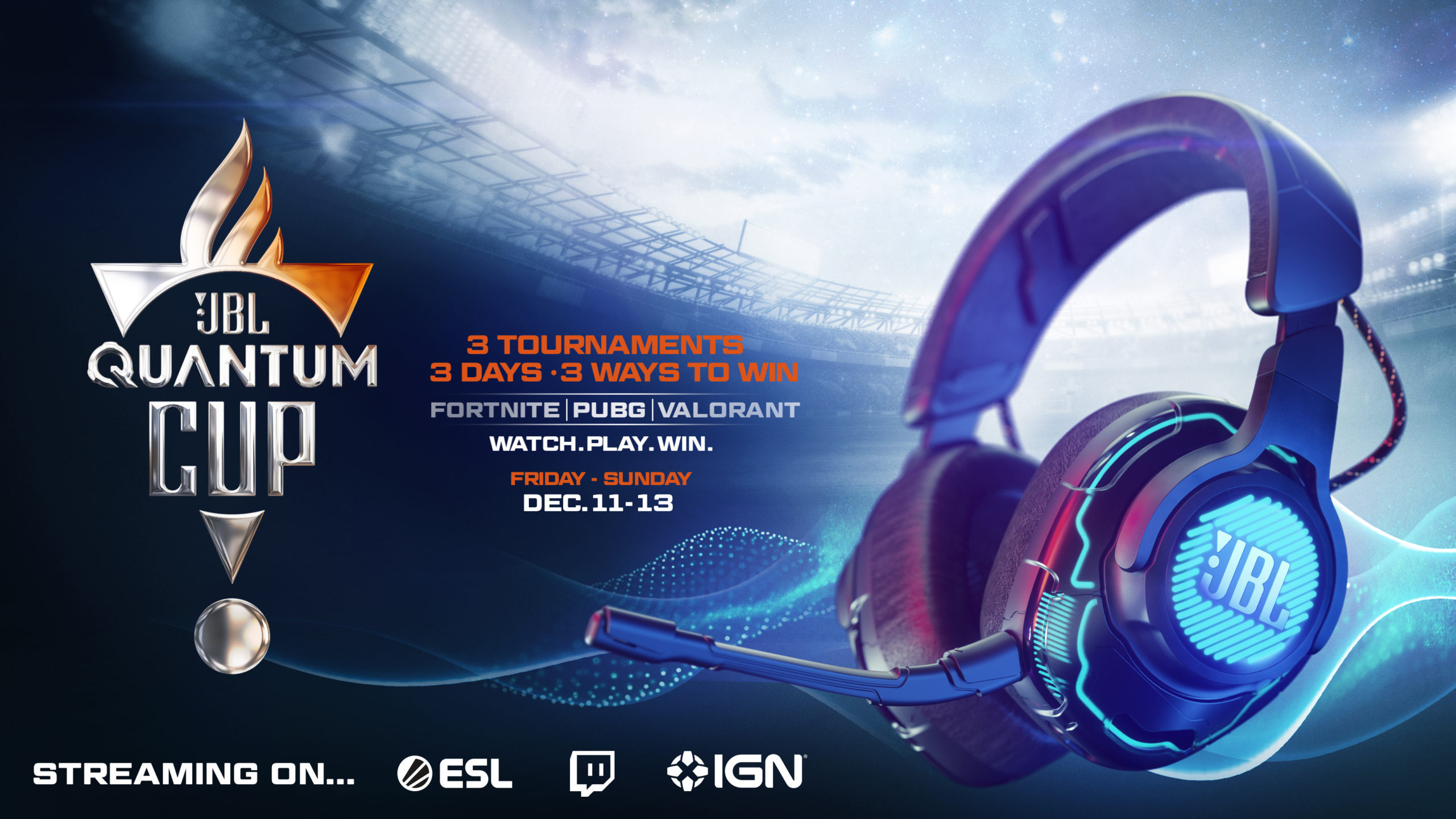 Global Gamers to Compete in JBL Quantum Cup