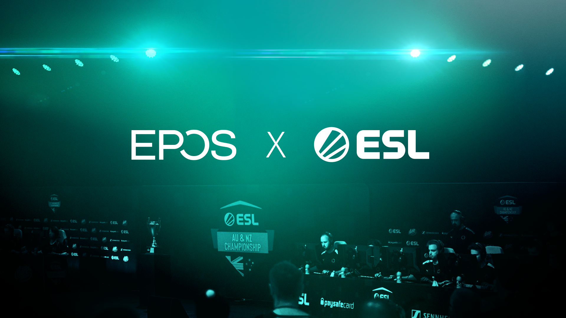 EPOS Partners With ESL to Bring Unrivalled Audio to the ESL ANZ Champs In New Two-Year Deal